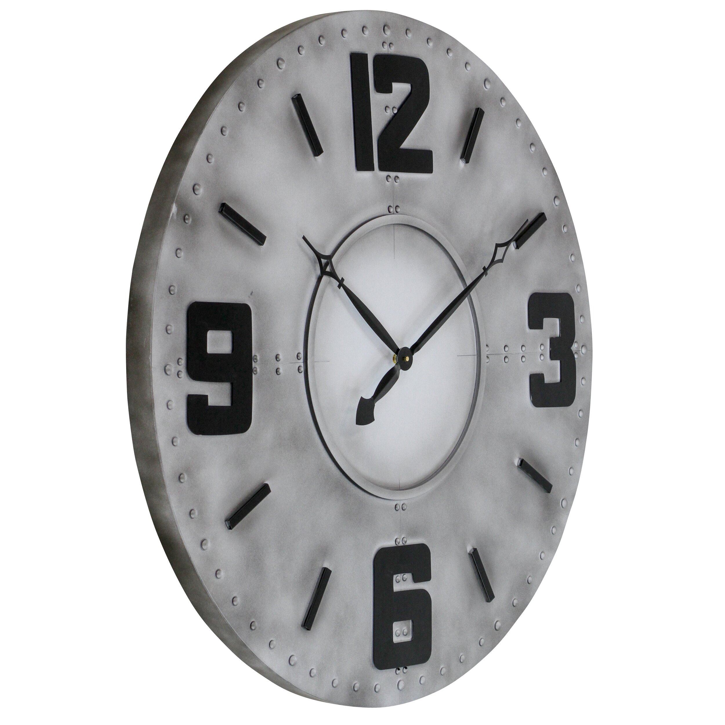 Aspire 36 Quot Radley Industrial Wall Clock Amp Reviews Wayfair