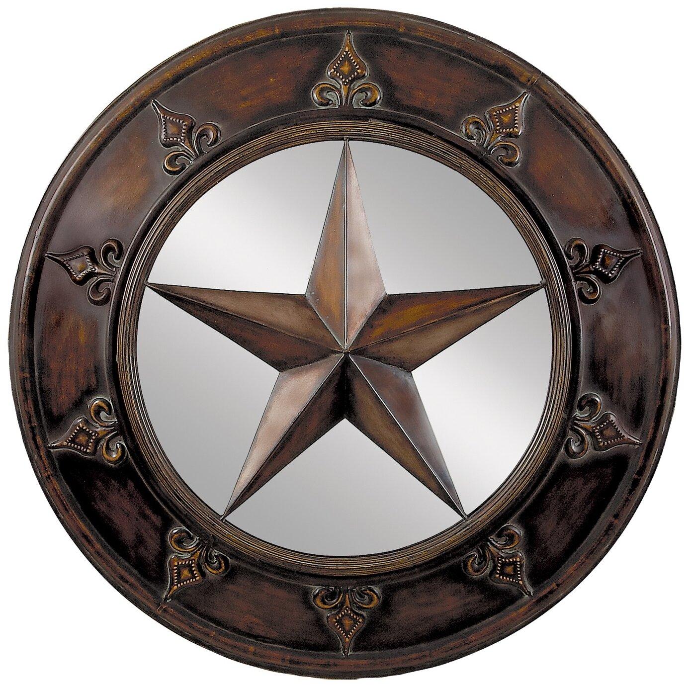 Glass Star Wall Decor : Aspire star mirror wall d?cor reviews wayfair