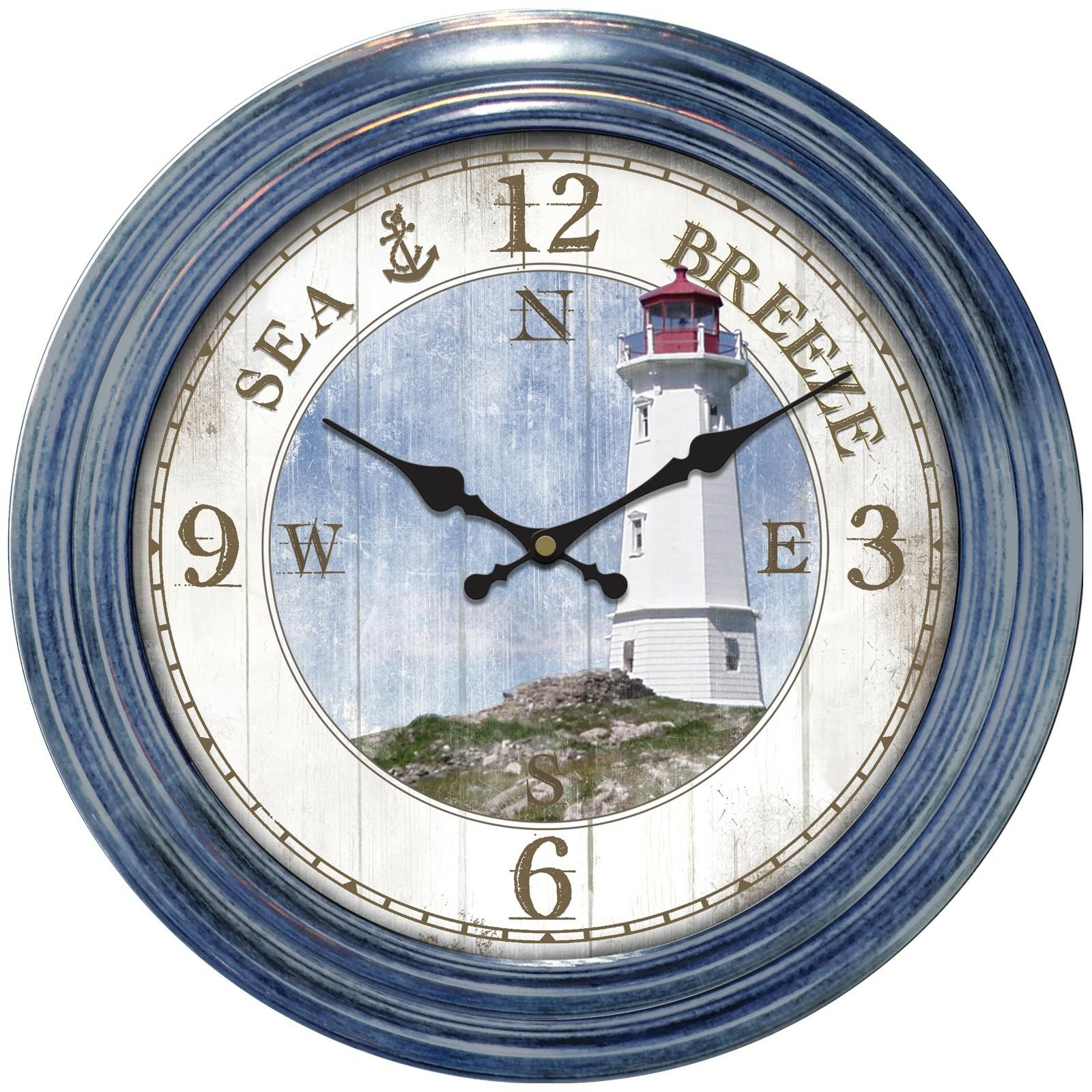 Ashton Sutton Decorative Home 18 Quot Lighthouse Dial Wall