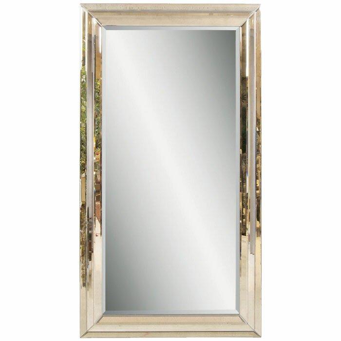 Bassett Mirror Rosinna Leaner Mirror Amp Reviews Wayfair