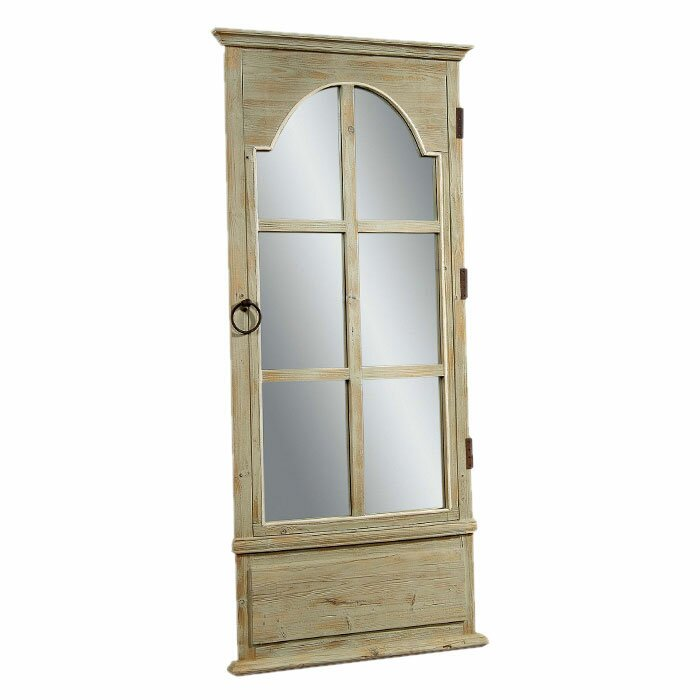 Bassett mirror french door leaner mirror reviews for All glass french doors