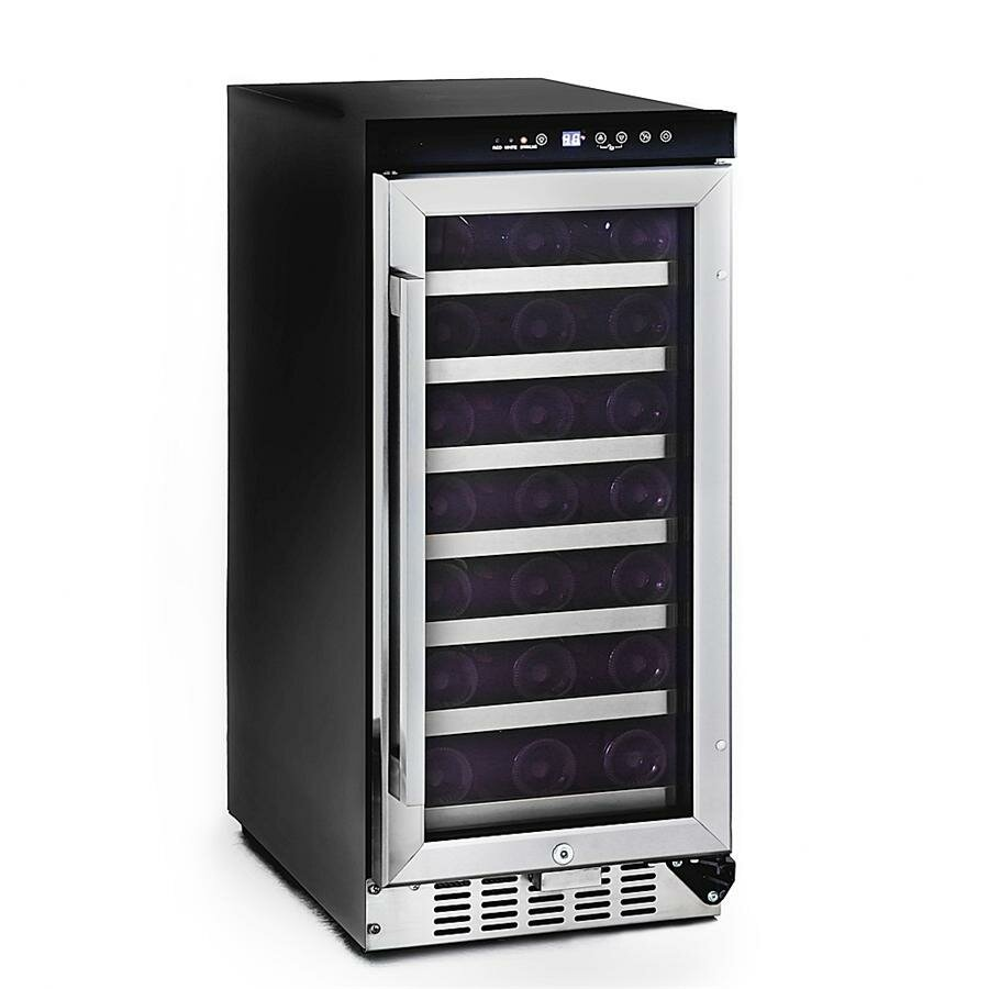 Whynter 33 Bottle Single Zone Built In Wine Refrigerator
