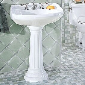 St Thomas Creations Arlington Petite Pedestal Sink Wayfair