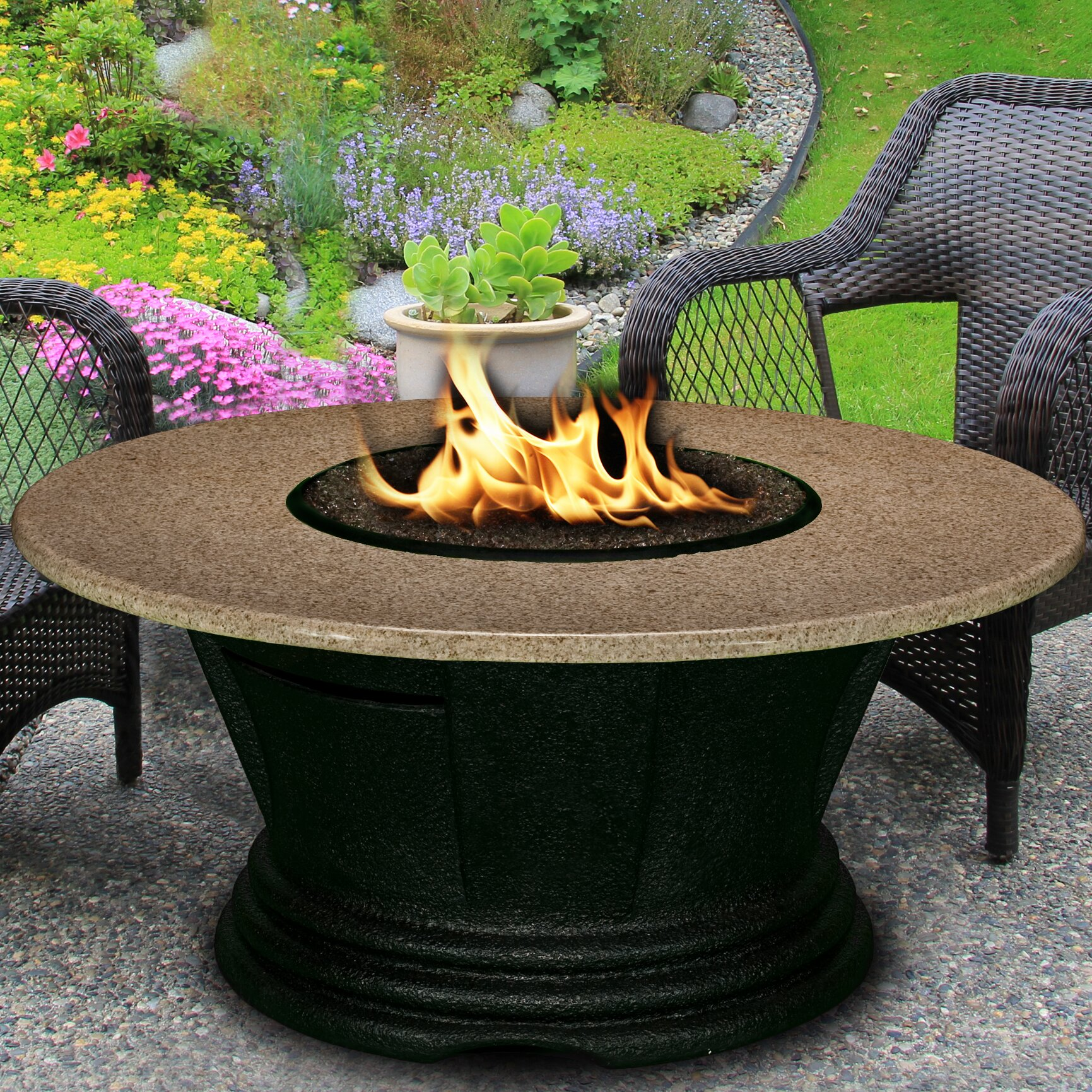 California outdoor concepts san simeon chat height fire for California outdoor concepts