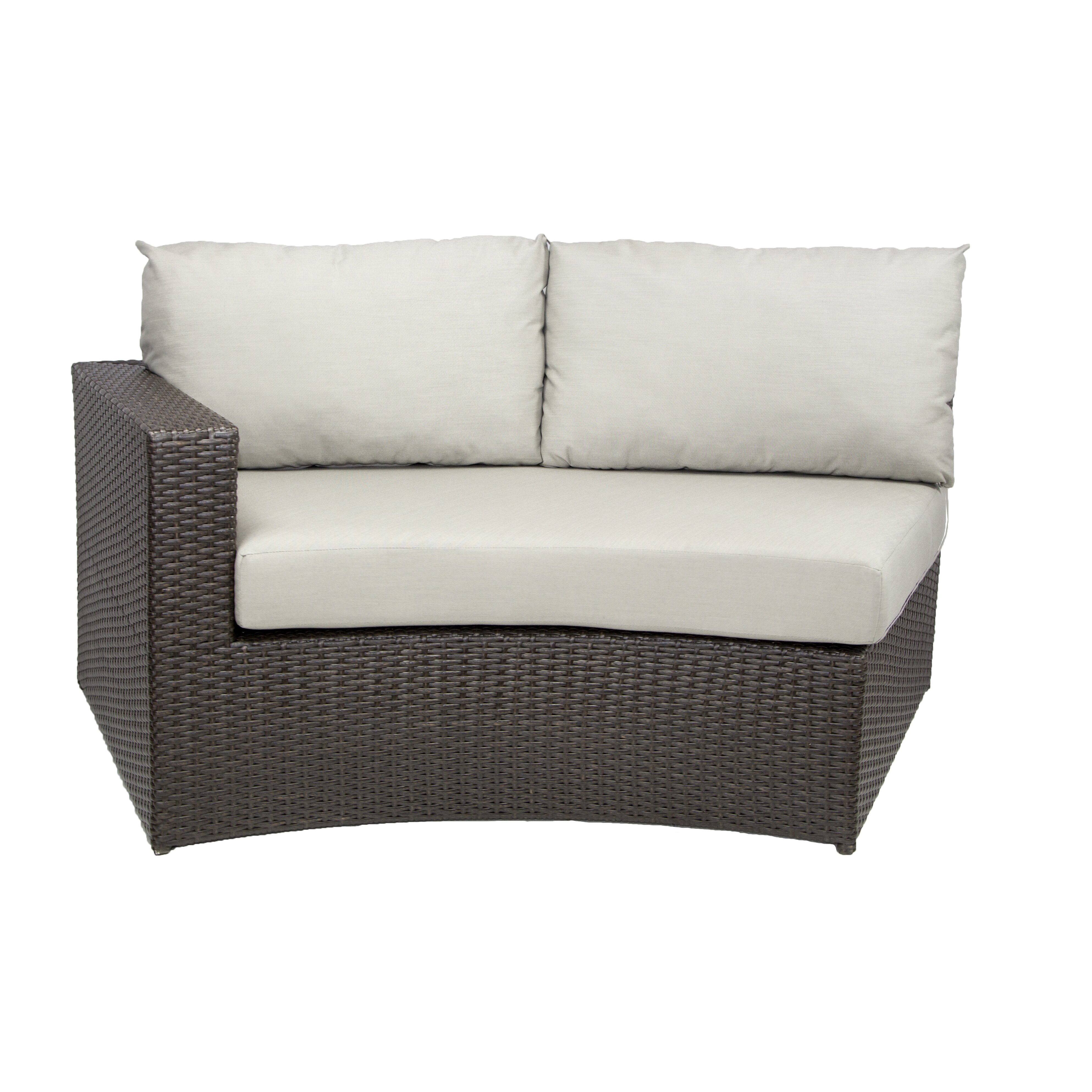 Patio Heaven Vallejo Sectional with Cushions Set
