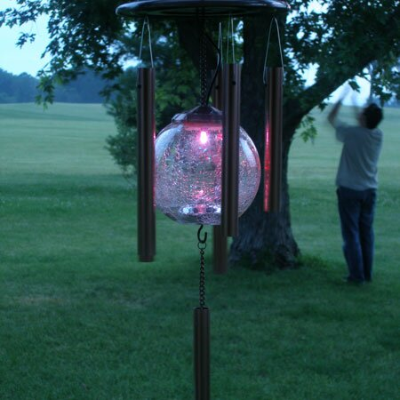 Pacific Accents Color Changing Solar Wind Chime Amp Reviews