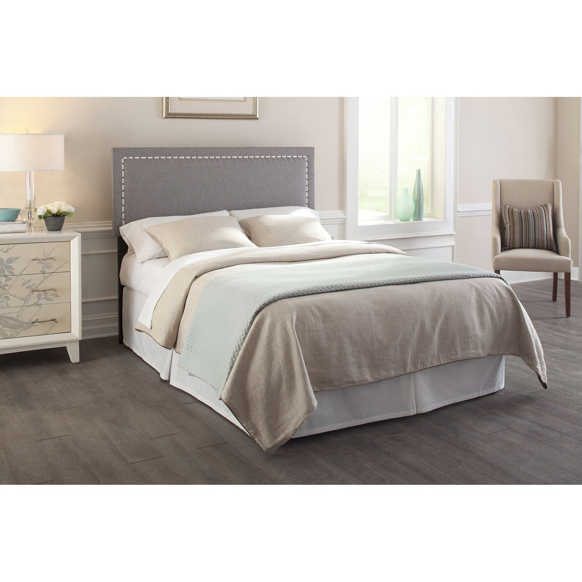 Upholstered Headboard Nailhead: Fashion Bed Group Wellford Nailhead Trim Upholstered