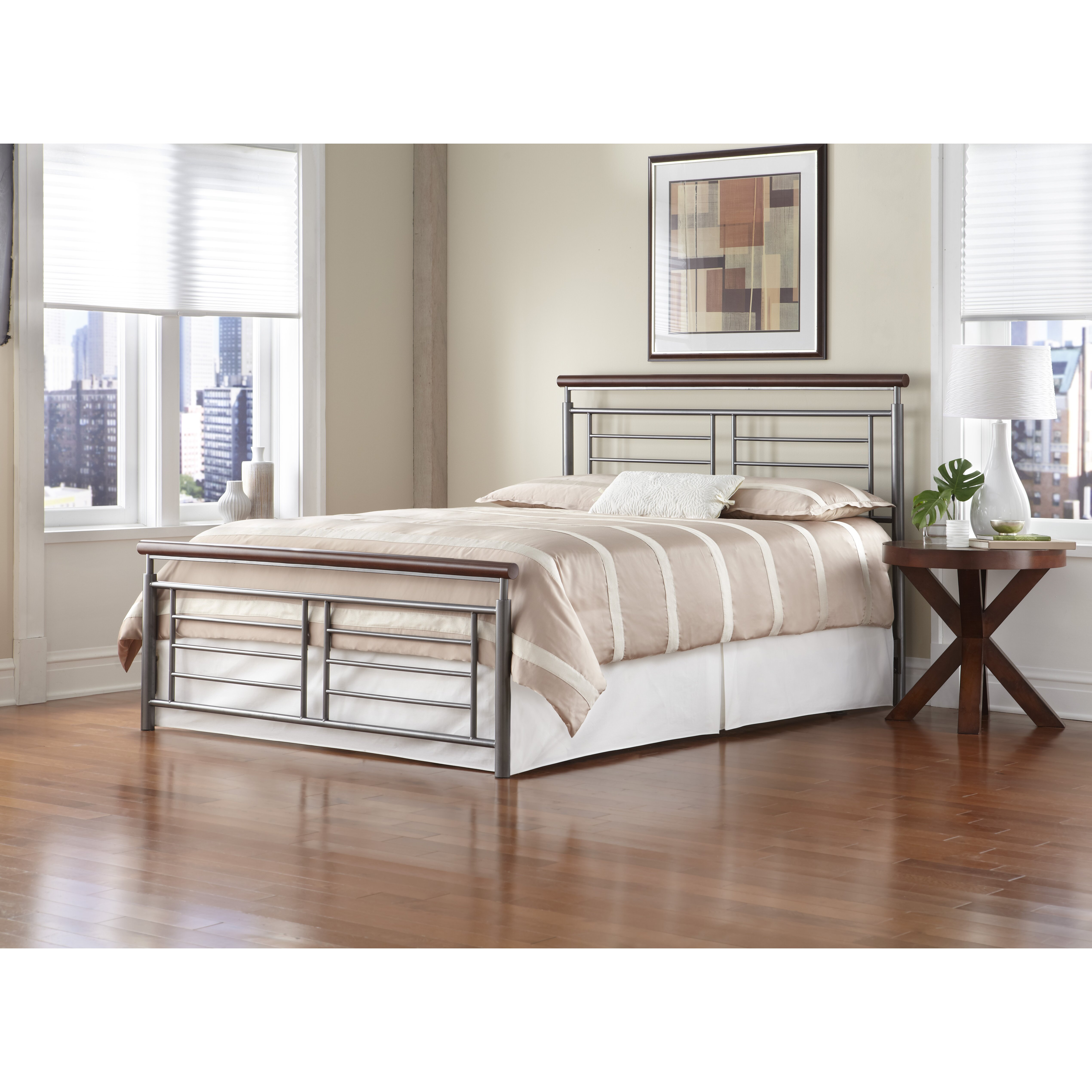 Fashion Bed Group Fontane Metal Headboard Reviews Wayfair