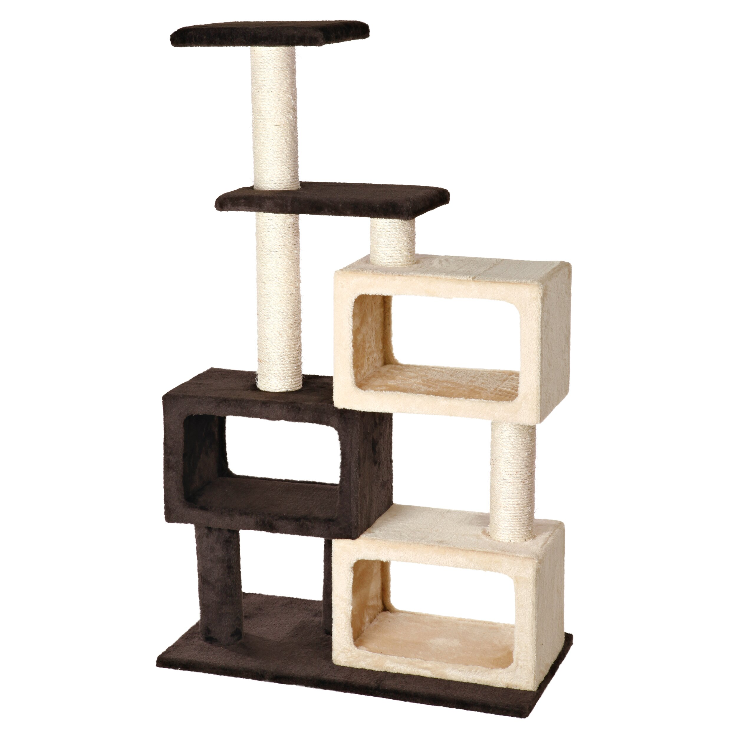 Trixie 51 bartolo cat tree reviews wayfair for Pictures of cat trees