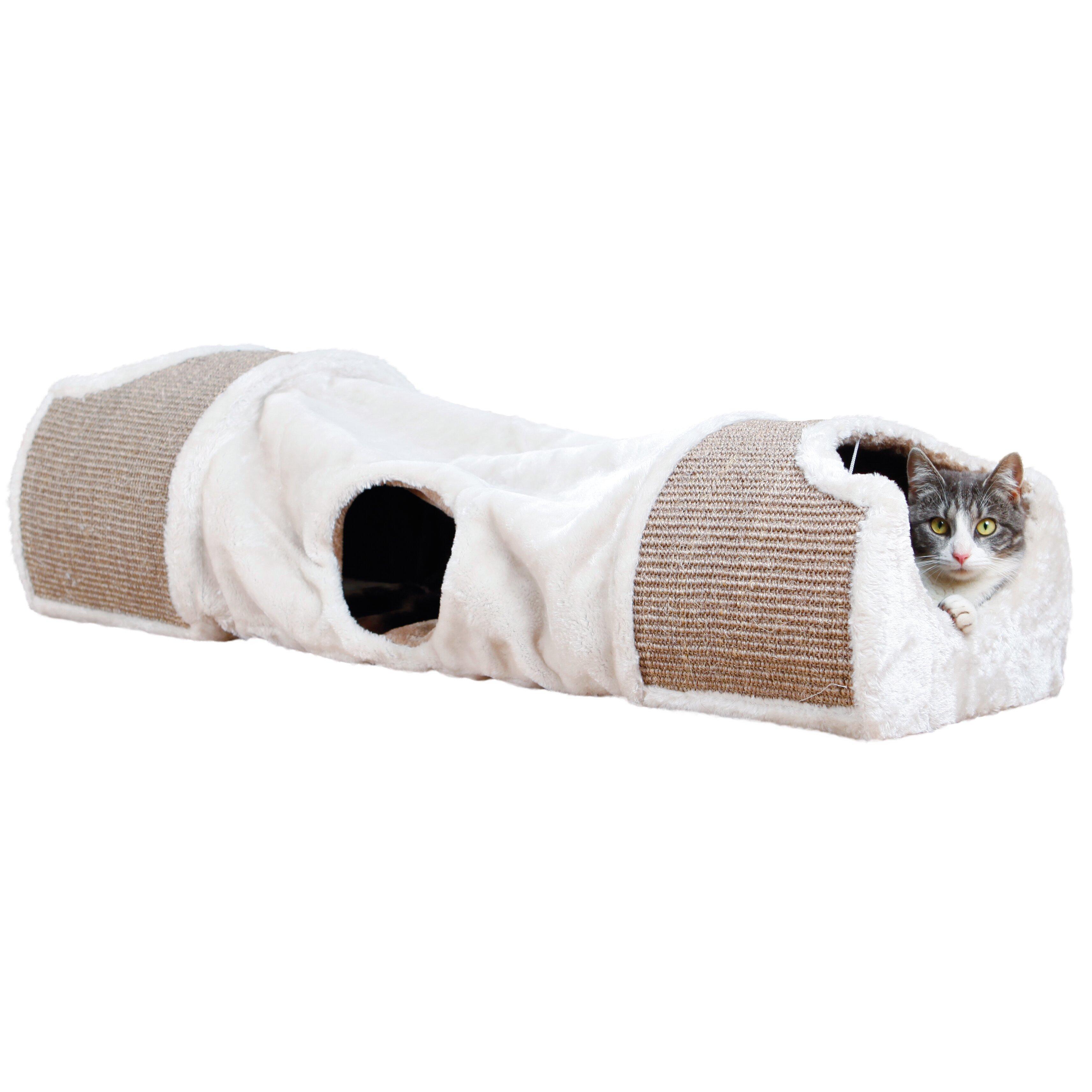 Trixie 11 75 Quot Plush Nesting Cat Condo Amp Reviews Wayfair