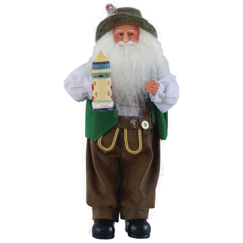 Santa s workshop german figurine reviews wayfair