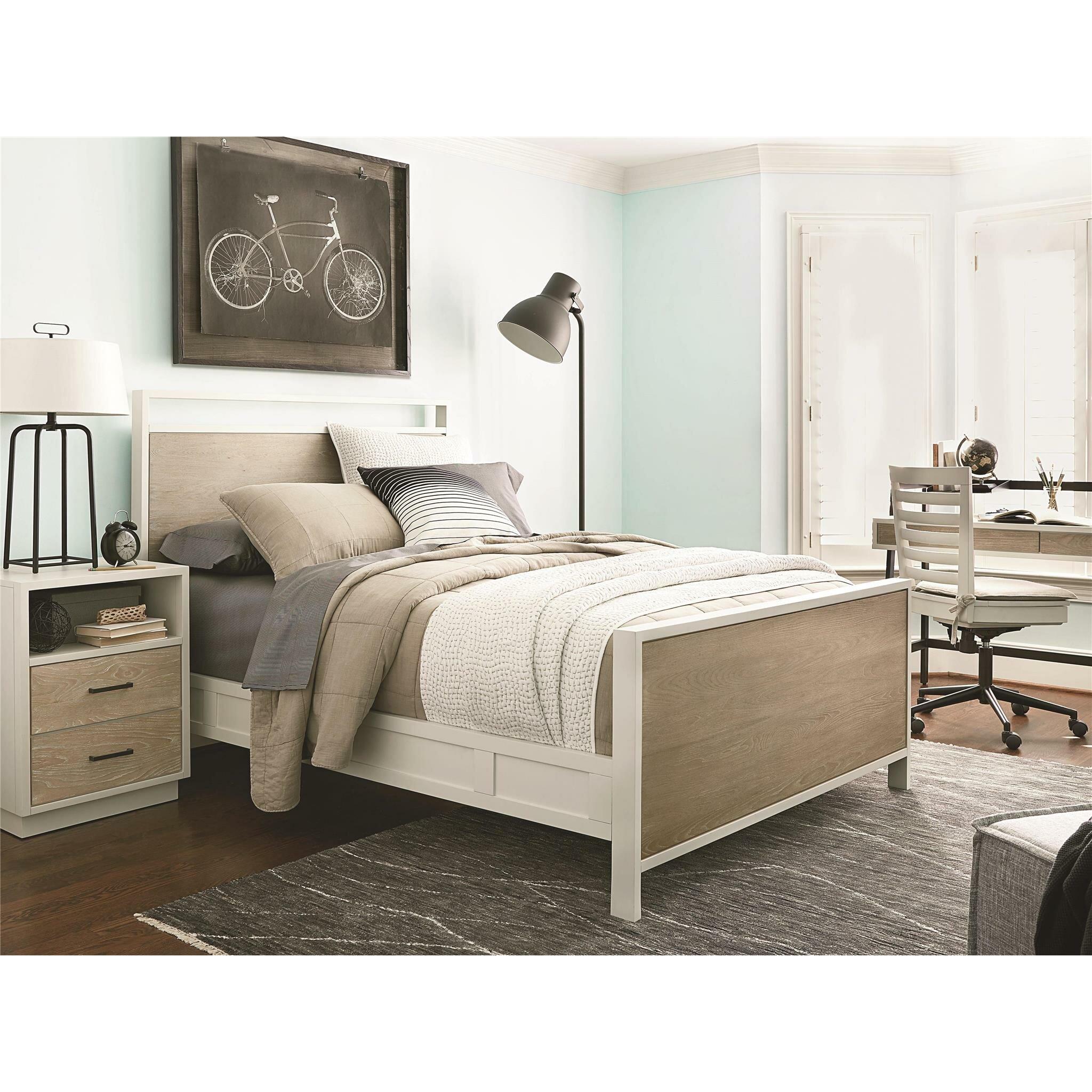 SmartStuff Furniture MyRoom Panel Customizable Bedroom Set