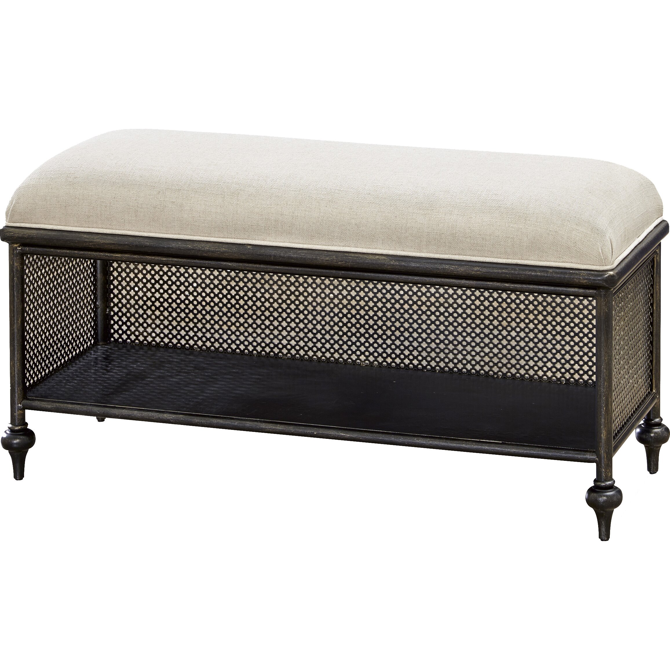 Smartstuff furniture penrose metal bedroom bench wayfair - Benches for bedrooms ...