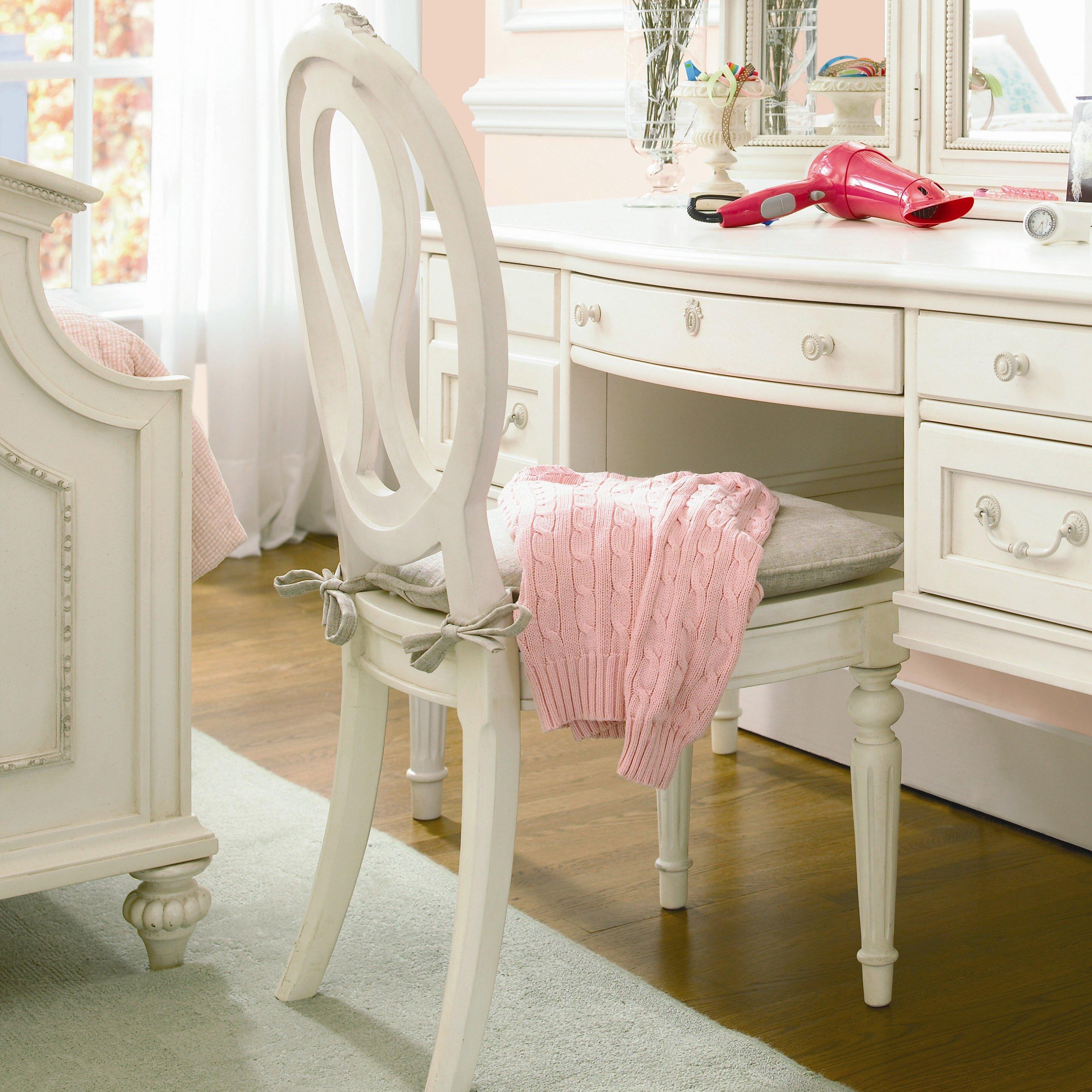 Playroom Workroom Bedroom 1965: SmartStuff Furniture Gabriella Vanity Desk With Hutch