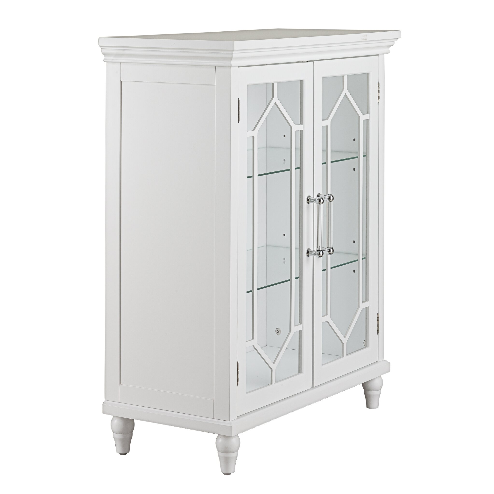 2 door storage cabinet home fashions toulouse 2 door floor cabinet 10084