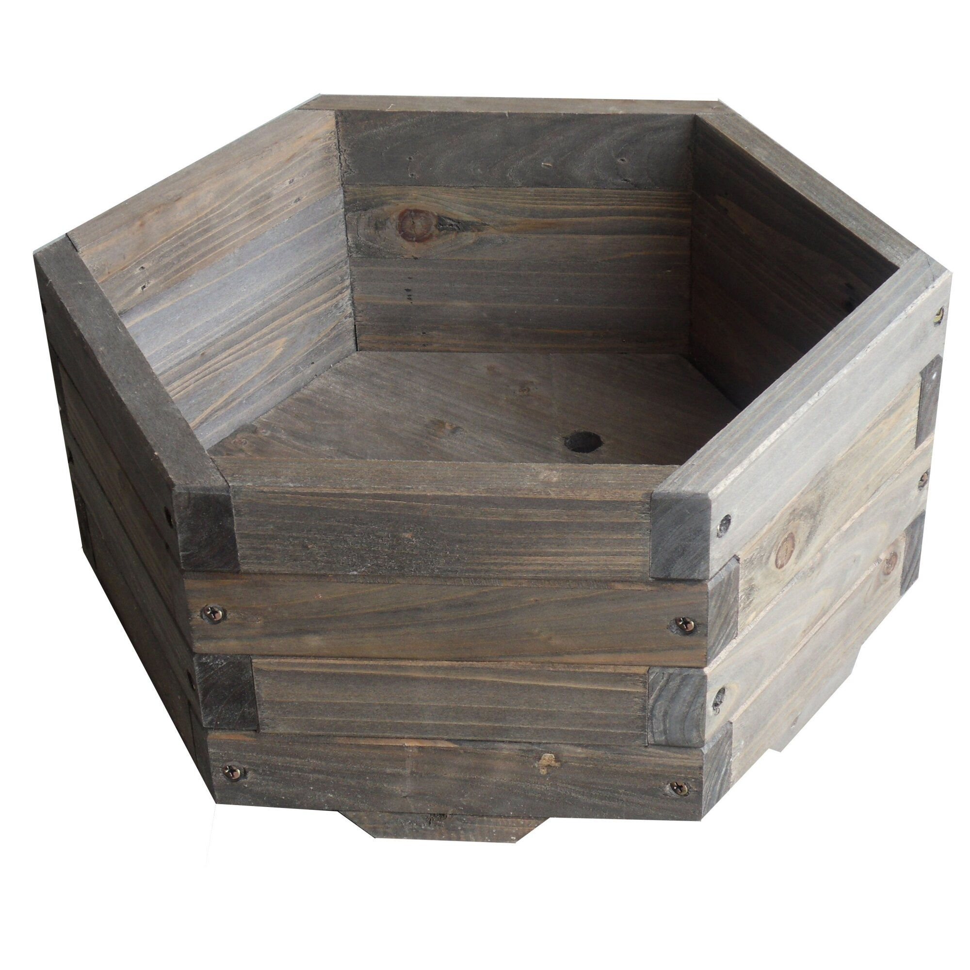 Elegant home fashions novelty planter box reviews wayfair for Wayfair garden box