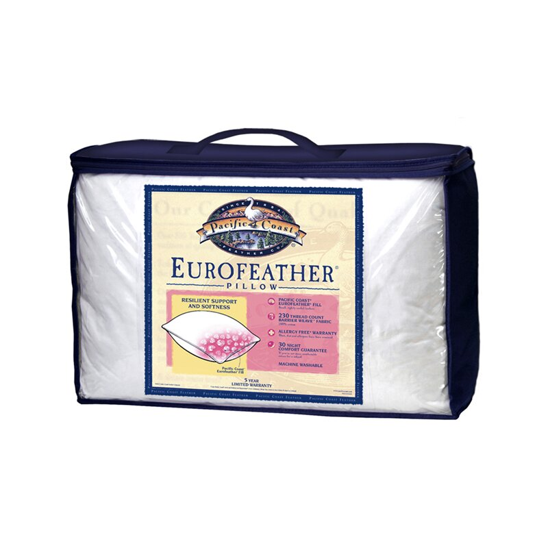 pacific coast feather euro feather pillow reviews wayfair