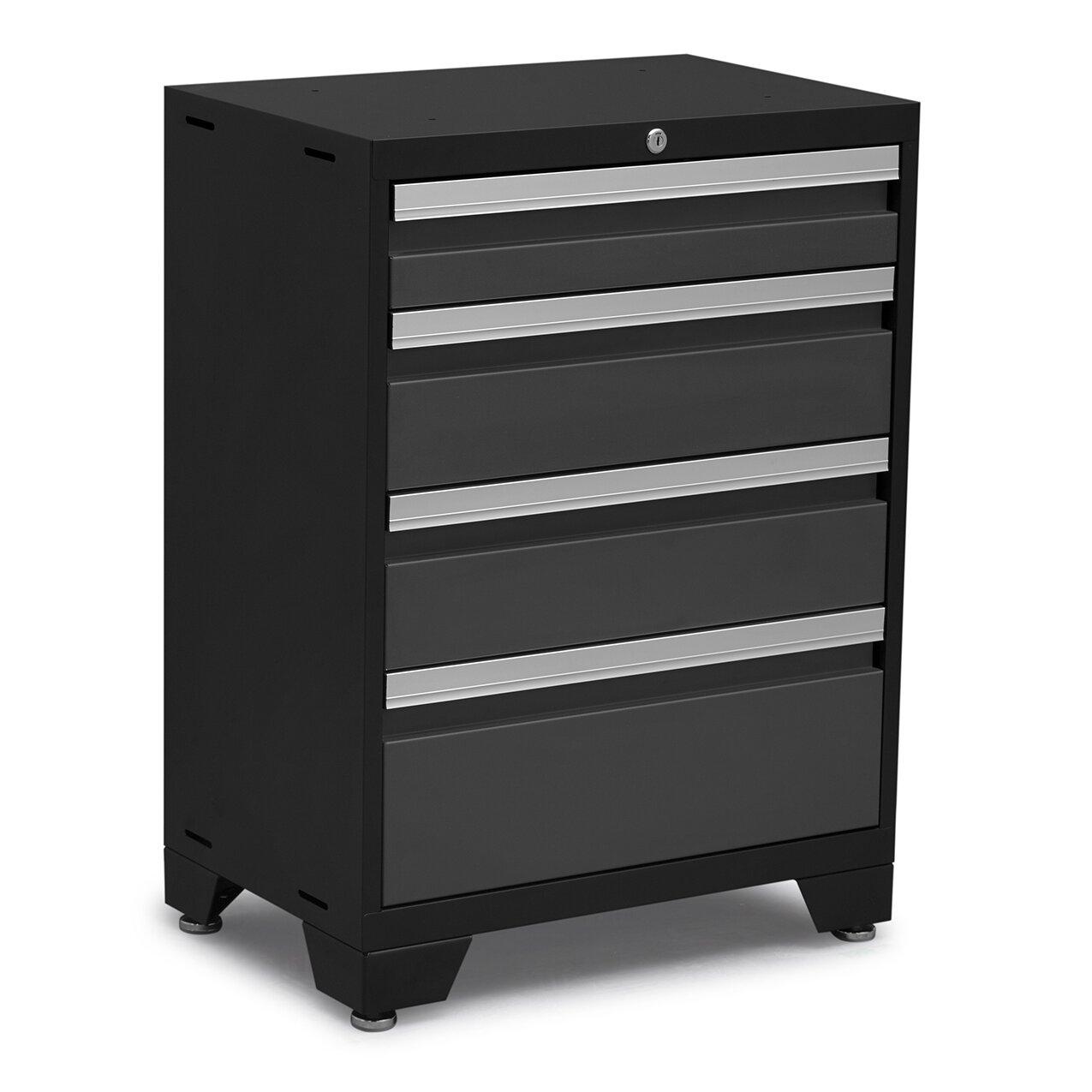 Newage products bold 3 0 series 8 piece garage storage for 3 piece metal kitchen units