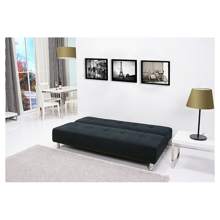 Leader Lifestyle Duke 3 Seater Clic Clac Sofa Bed Reviews Wayfair