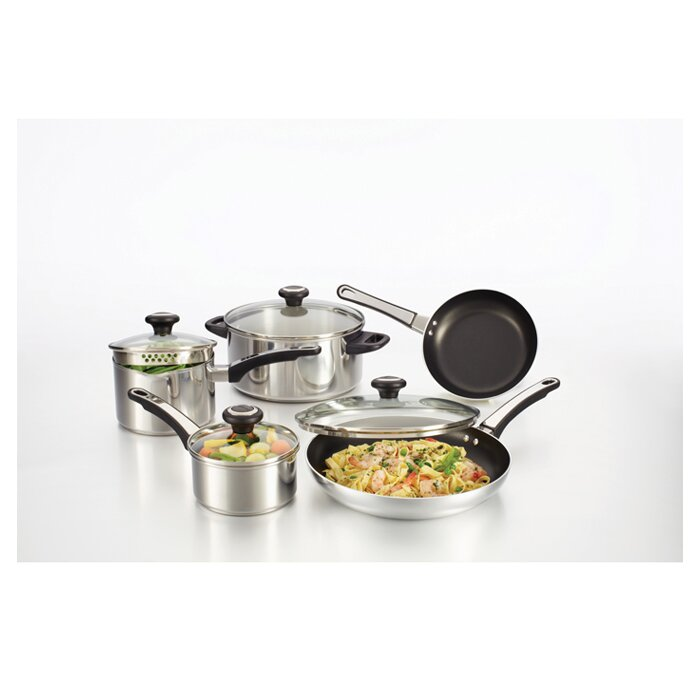 Farberware High Performance Stainless Steel 12 Piece Cookware Set ...