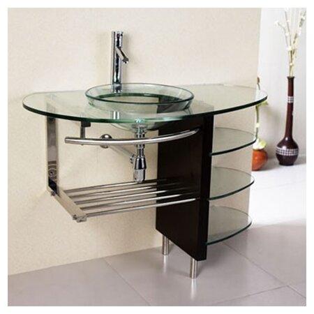 Kokols Round Vessel Bathroom Sink Amp Reviews Wayfair