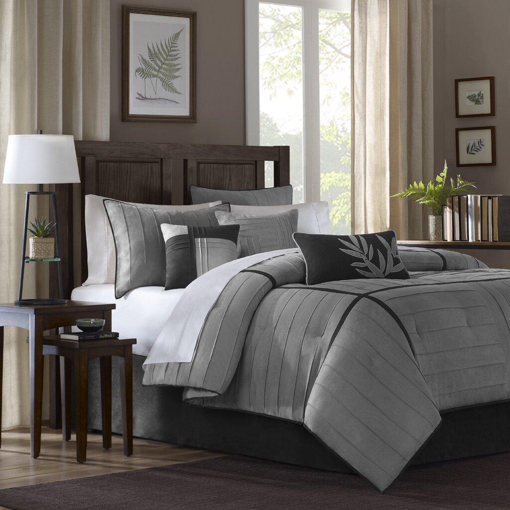 madison park connell 7 piece comforter set reviews wayfair