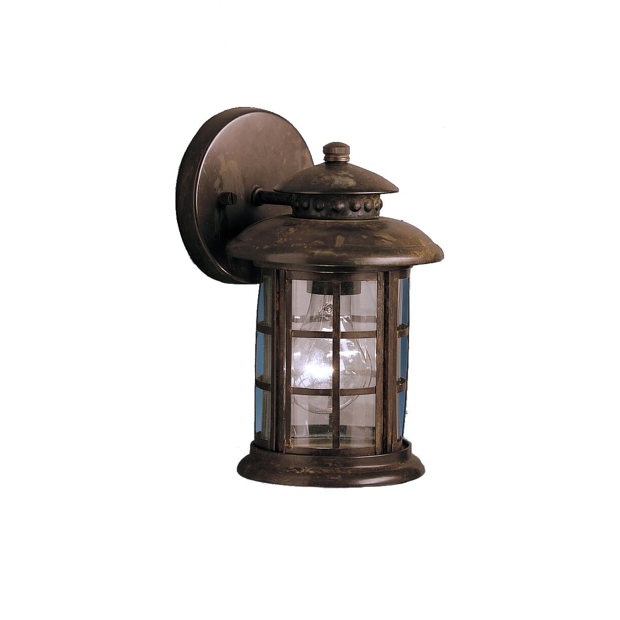 Wayfair Outdoor Wall Lights : Kichler Rustic 1 Light Outdoor Wall Lantern & Reviews Wayfair