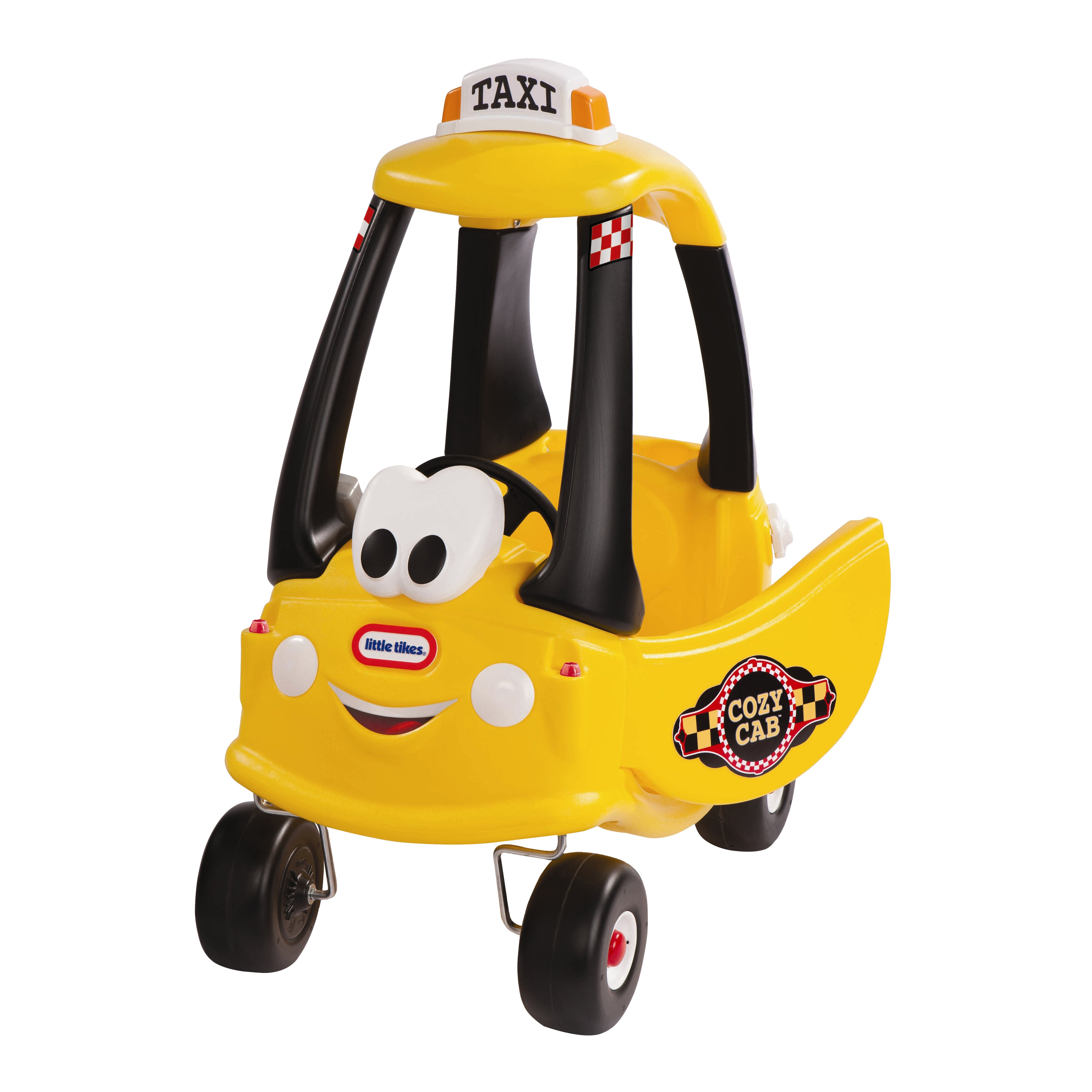 Little tikes cozy coupe cab push car reviews wayfair for Little tikes 2 in 1 buildin to learn motor workshop