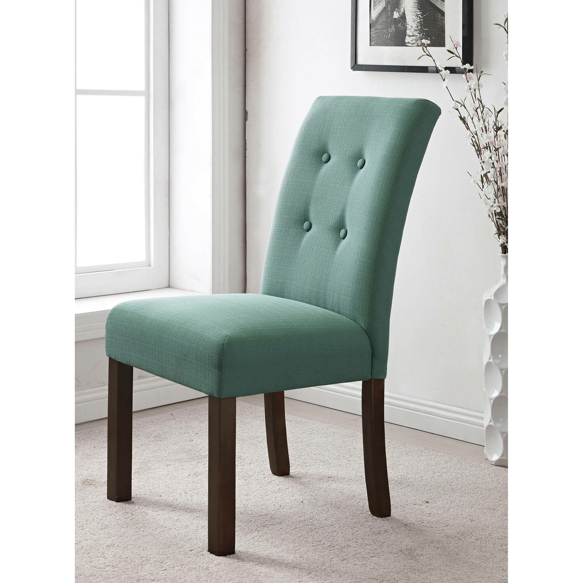 HomePop Republic Upholstered Parsons Chair & Reviews