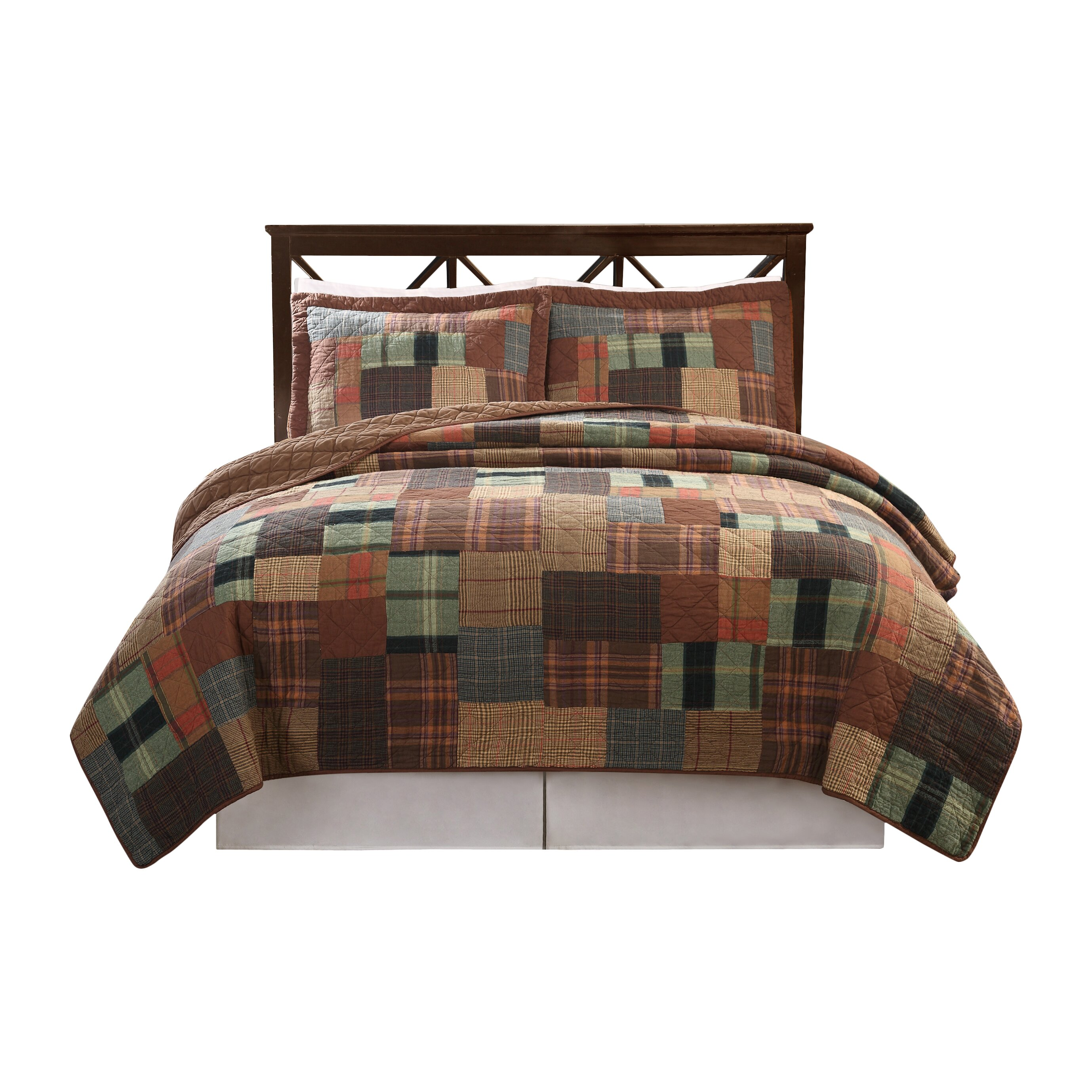 Classic home jewel tone 3 piece quilt set reviews wayfair for Classic homes reviews