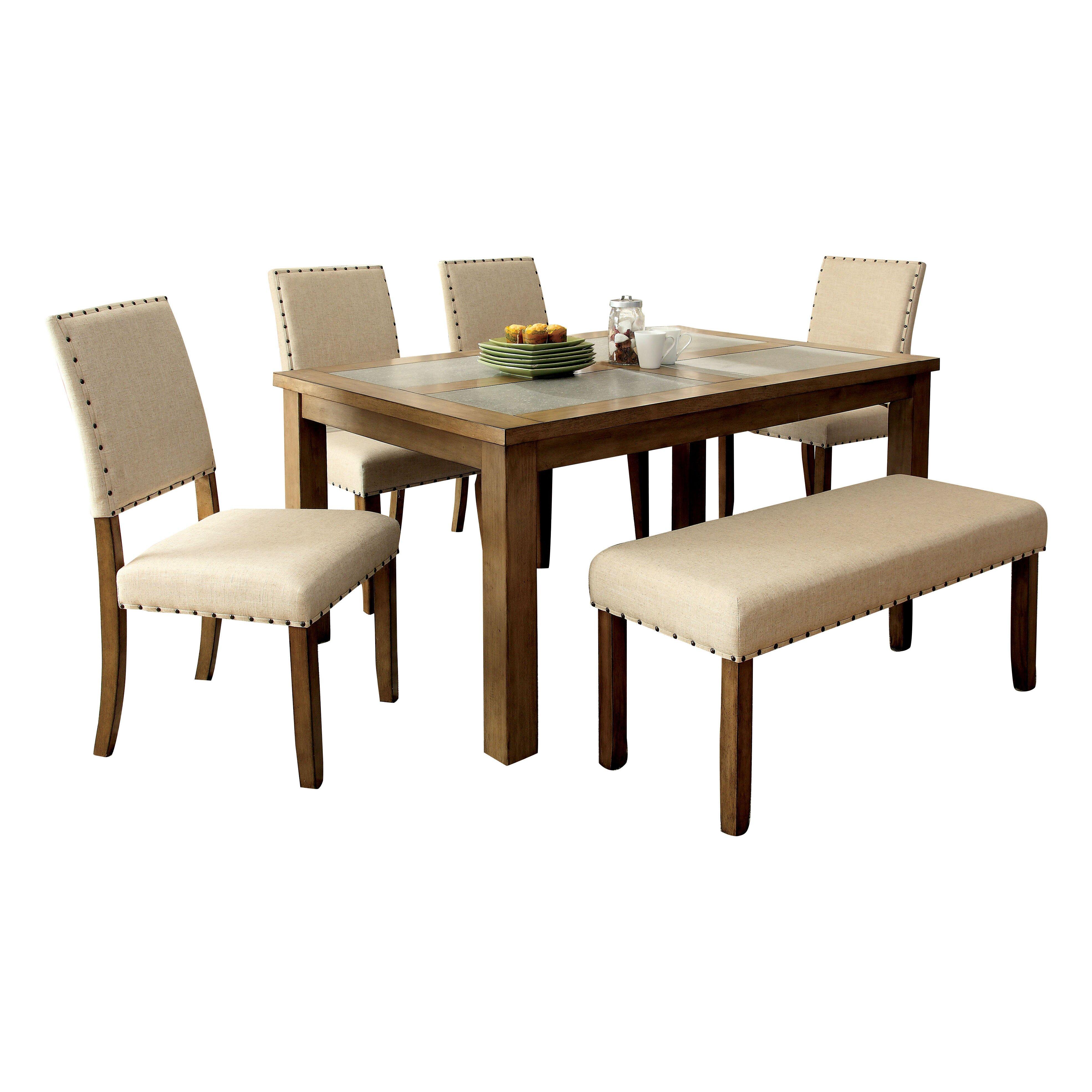Hokku designs casiodoro 6 piece dining set reviews wayfair for Hokku designs dining room furniture
