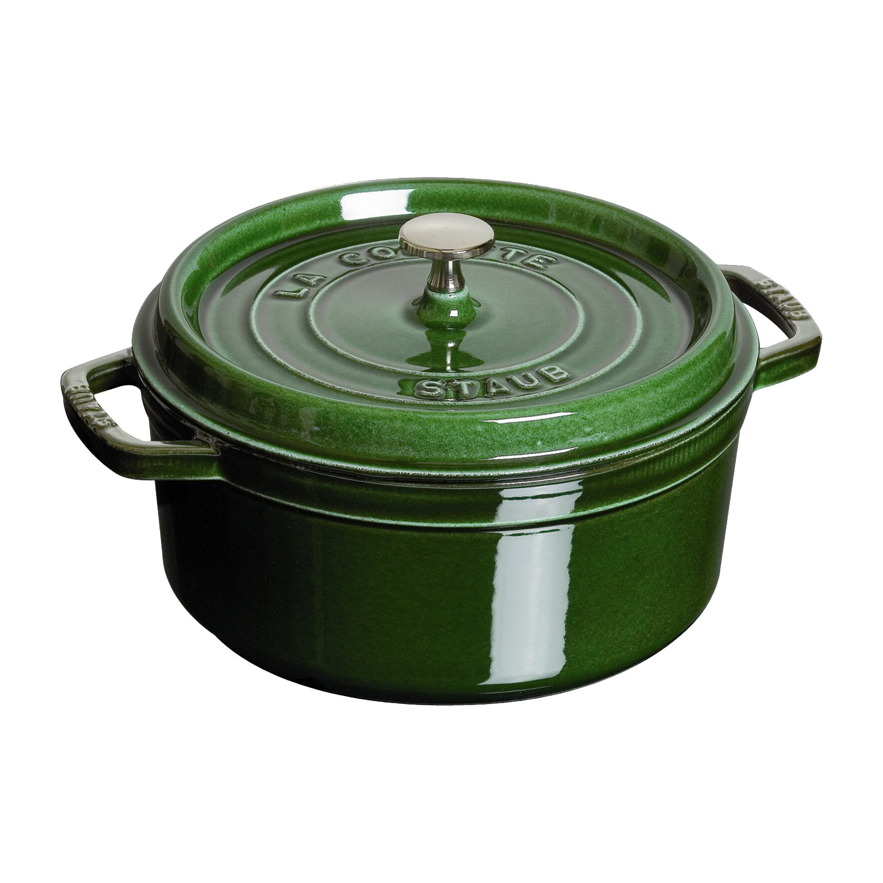 Staub Cast Iron Round Cocotte With Lid Amp Reviews Wayfair