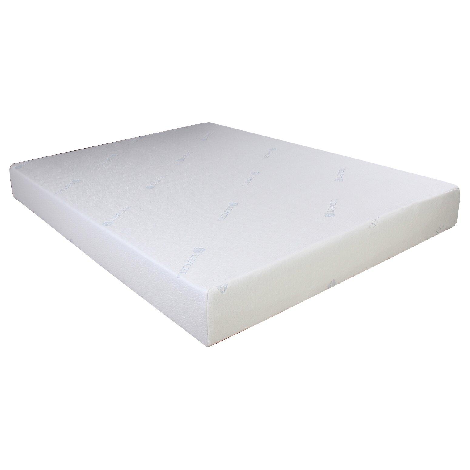 Designed To Sleep 8 Gel Memory Foam Mattress Reviews Wayfair