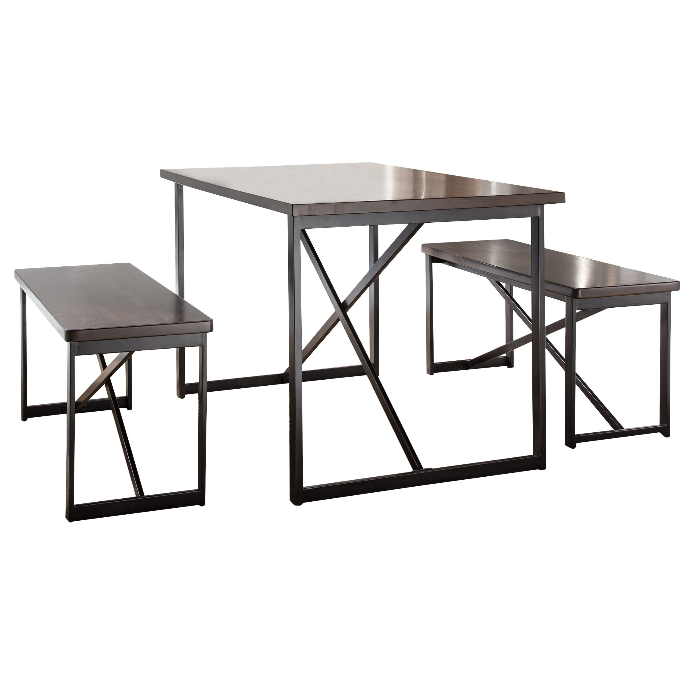 Signature design by ashley joring 3 piece dining set for 3 piece dining room set