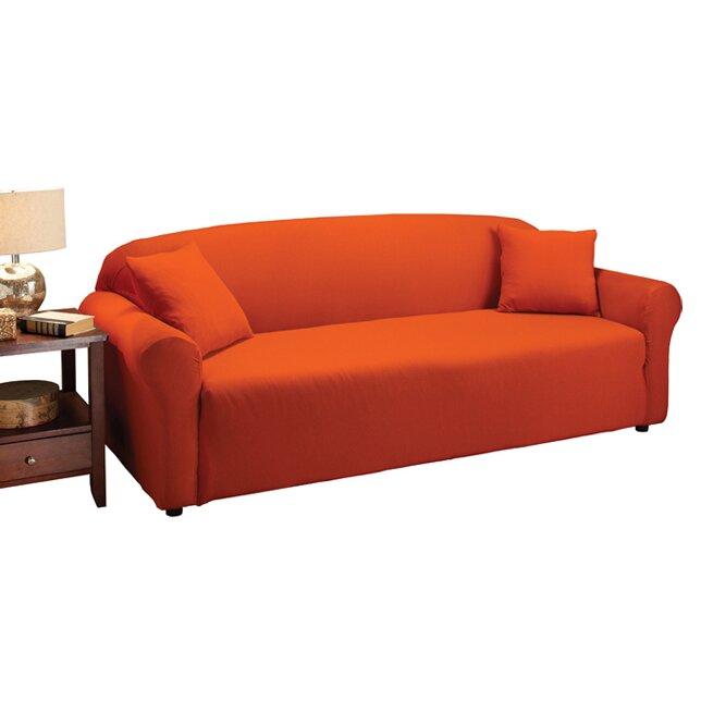 Madison Home Stretch Jersey Sofa Slipcover amp Reviews Wayfair : Jersey2BSofa2BSlipcover2Bin2BTangerine from www.wayfair.com size 644 x 644 jpeg 38kB