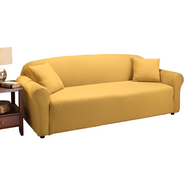 Madison Home Stretch Jersey Sofa Slipcover Reviews Wayfair