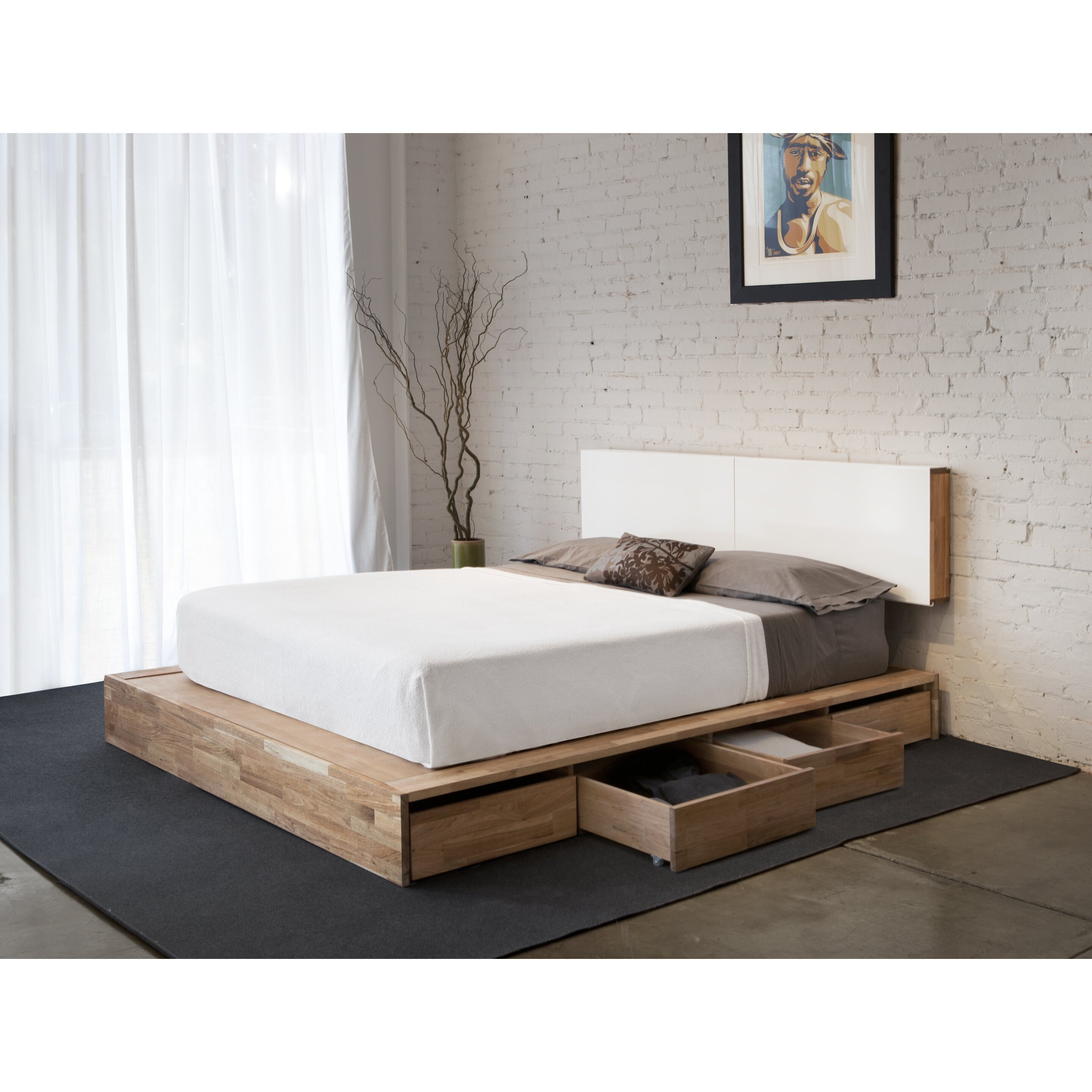 Mash studios lax series storage platform bed reviews for Mash studios lax