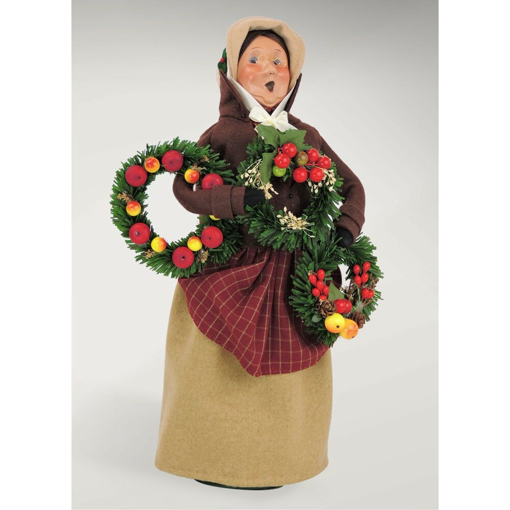 Byers Choice Carolers: Byers' Choice Carolers Woman Selling Evergreens & Reviews