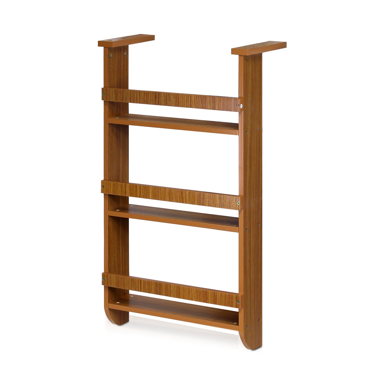 Furinno Wall Mount Spice Rack In Cherry Reviews Wayfair