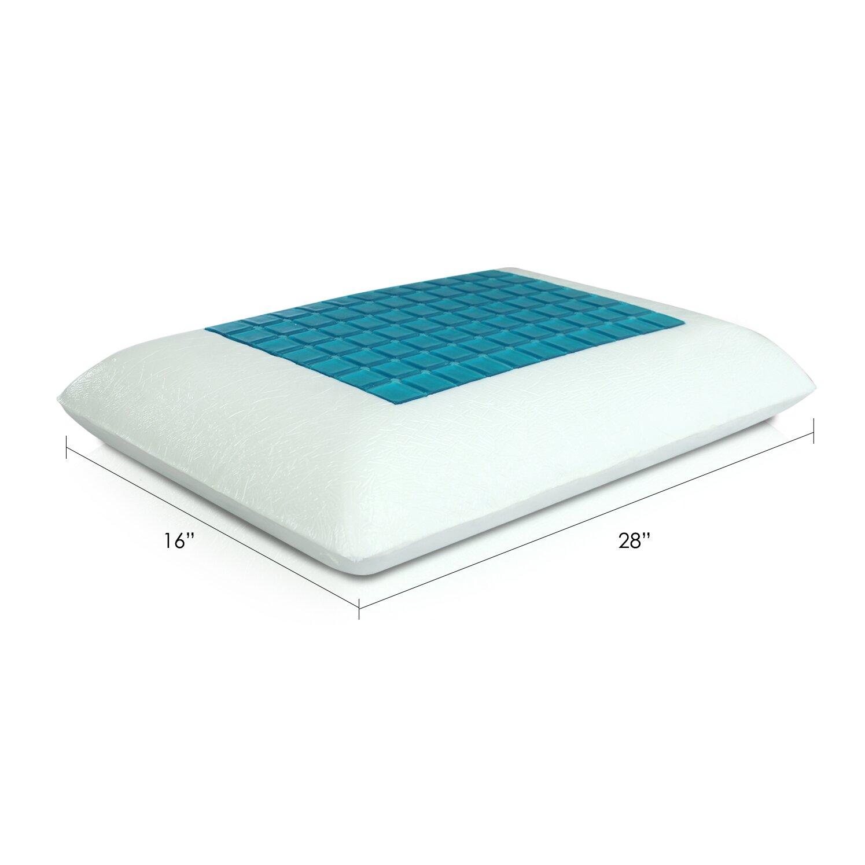 Furinno Healthy Sleep Gel Reversible Classic Memory Foam