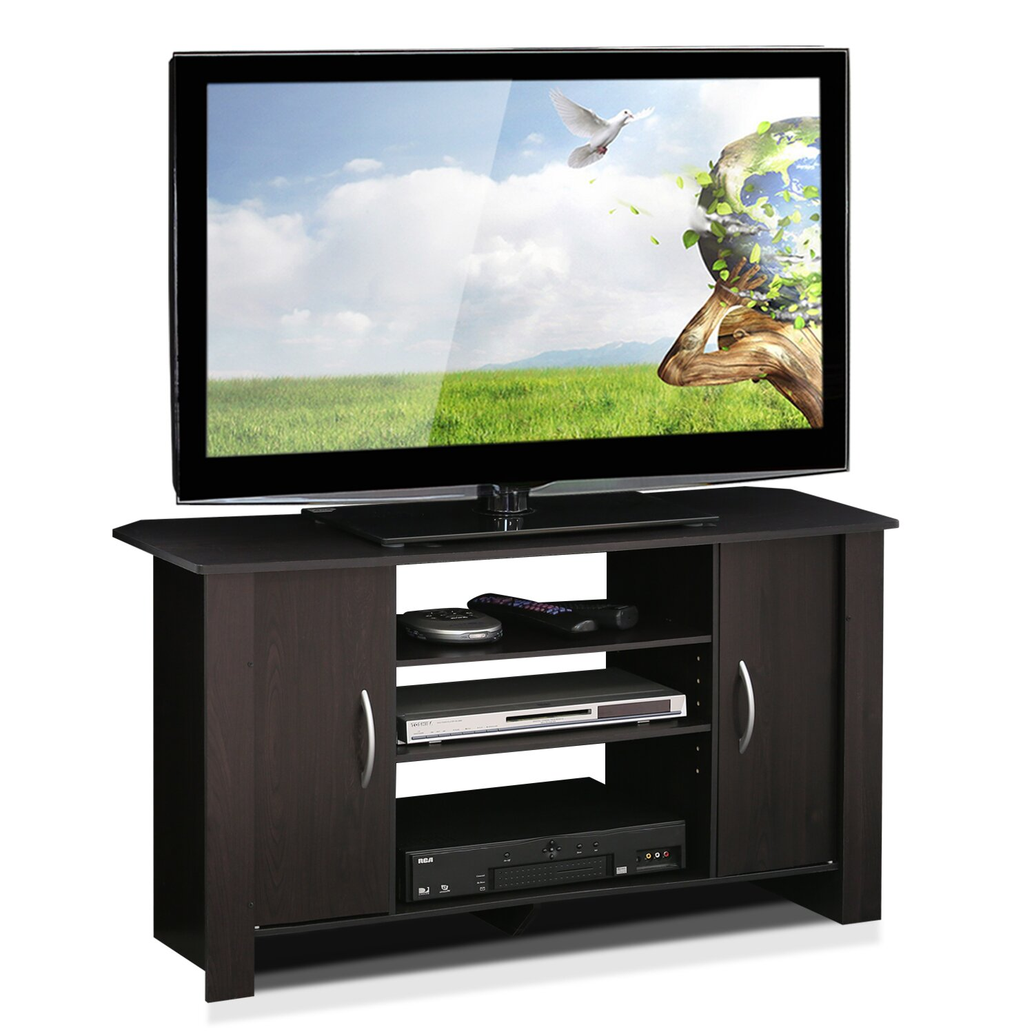 Furinno Econ Tv Stand Reviews Wayfair