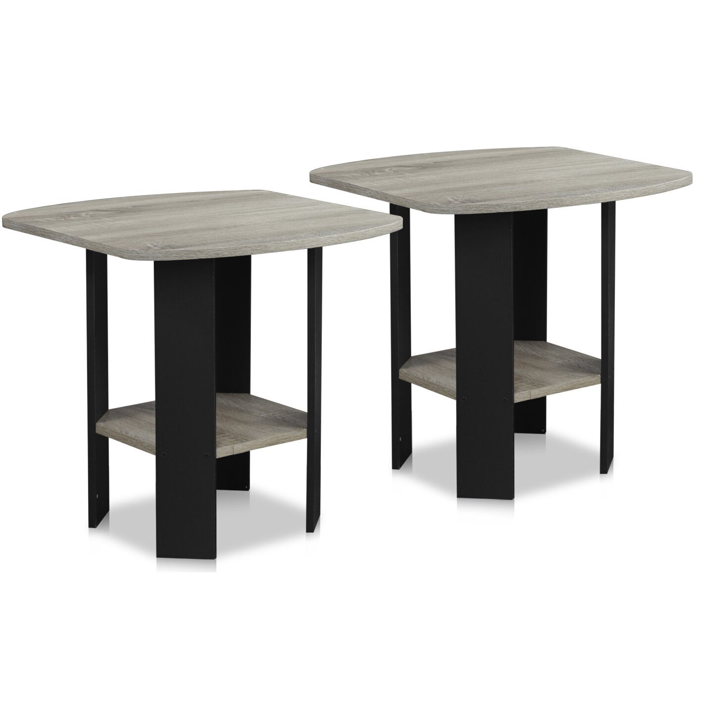 Furinno simple end table reviews wayfair for Simple html table