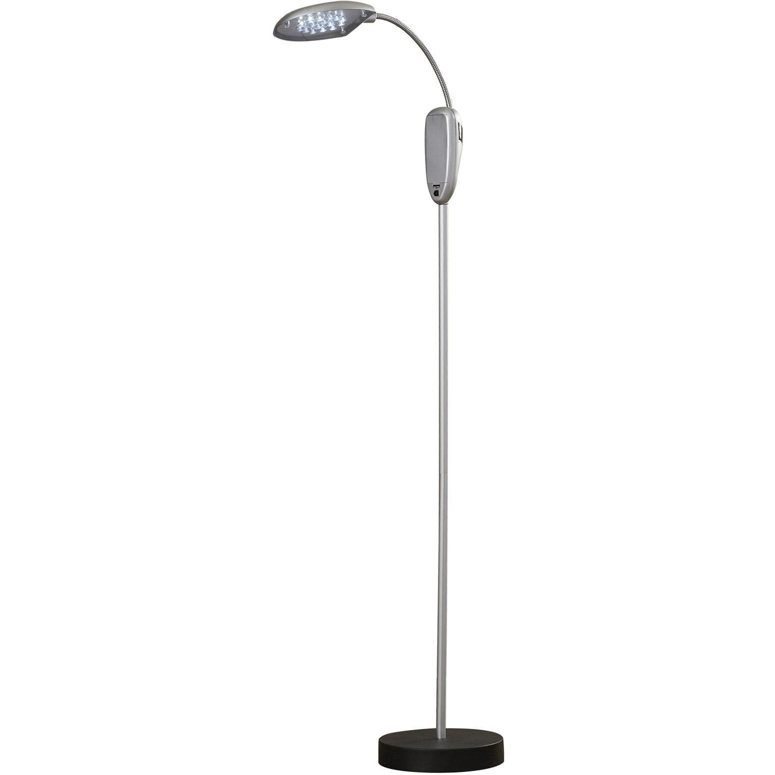 Trademark global super bright cordless portable 52quot led for Cordless led floor lamp review