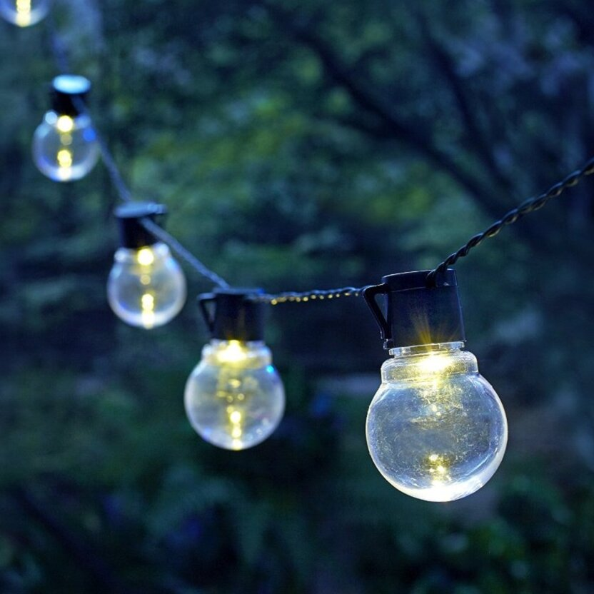 Moonrays String Lights : Moonrays Moonrays LED Globe String Light Wayfair