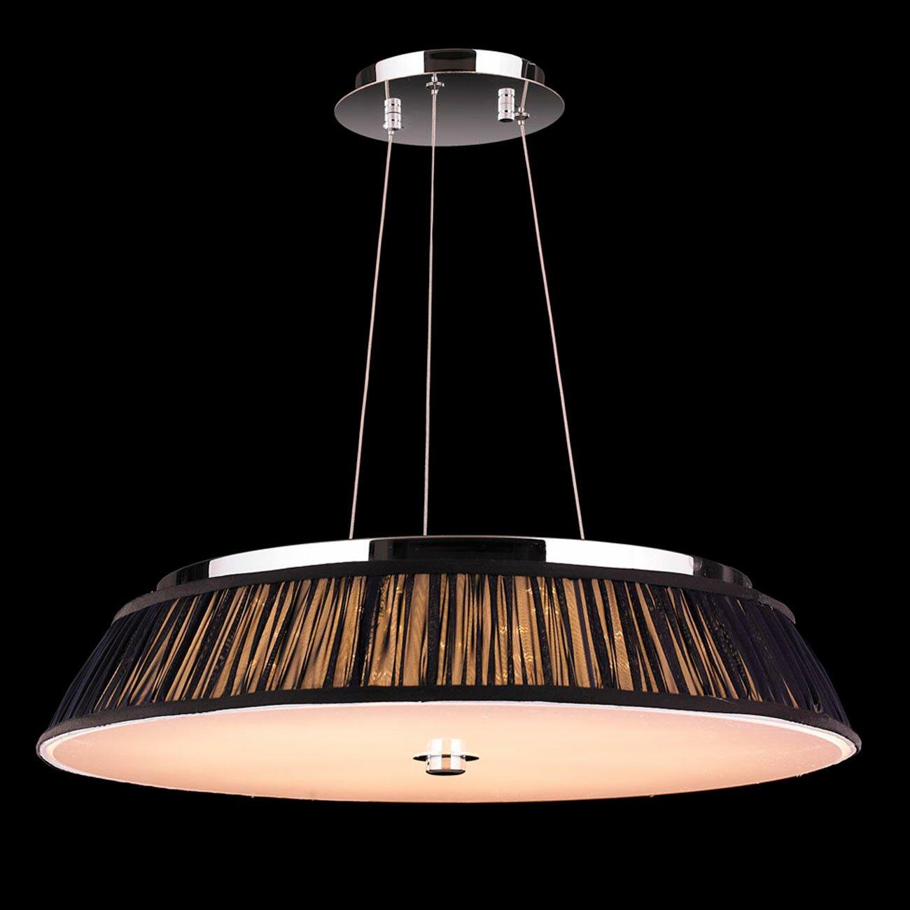 Worldwide Lighting Alice 12 Light Drum Pendant & Reviews ...