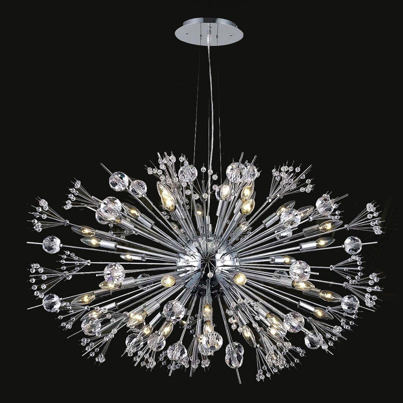worldwide lighting starburst 24 light sputnik chandelier. Black Bedroom Furniture Sets. Home Design Ideas