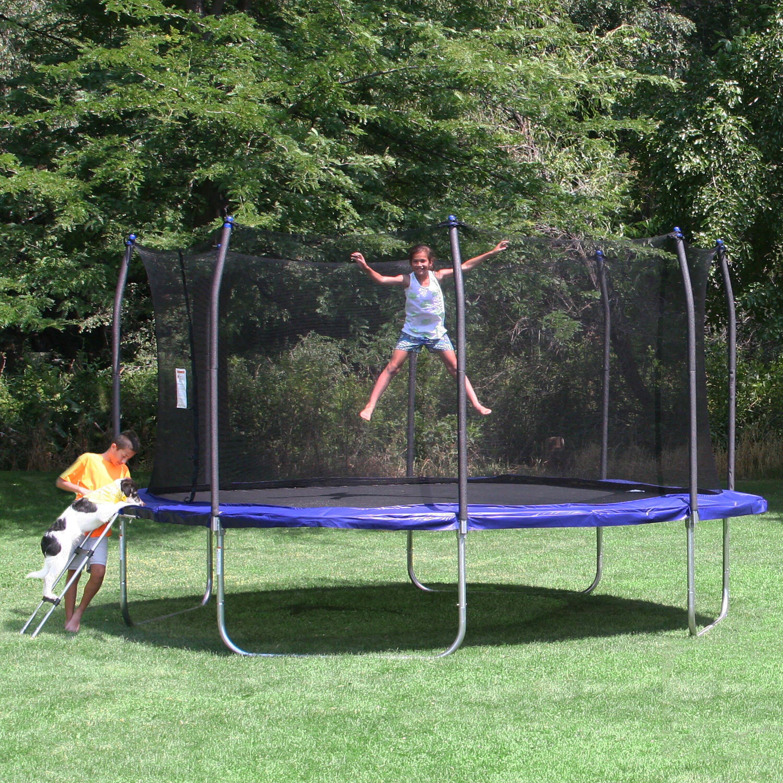 Skywalker 14 39 square trampoline and enclosure reviews for Skywalker trampoline