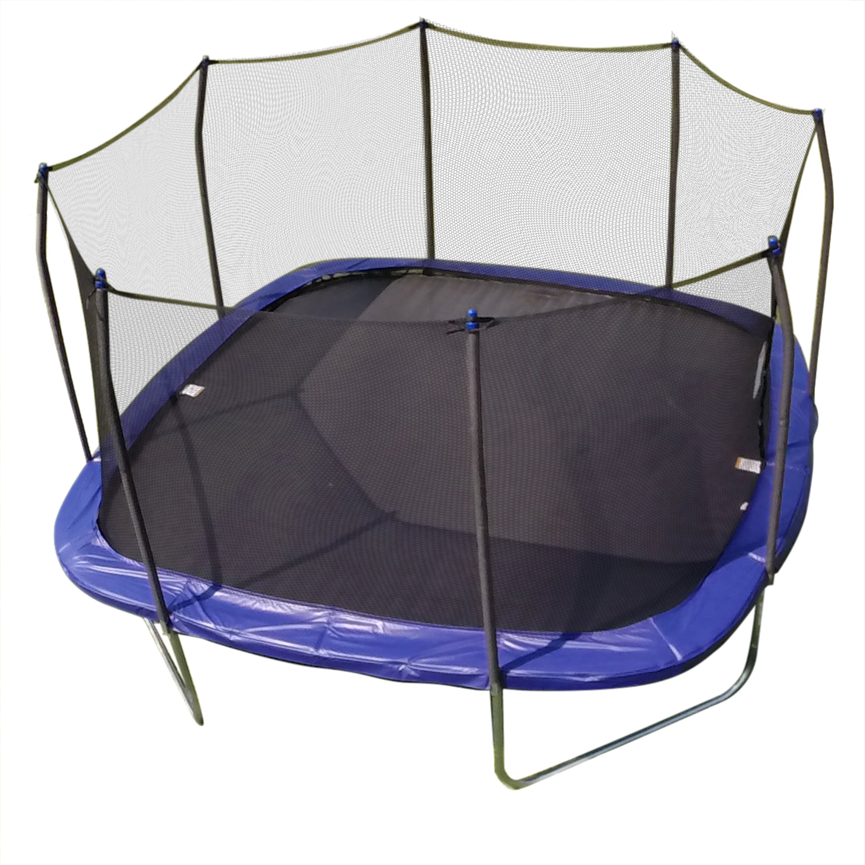 mini trampoline with enclosure skywalker 14 square trampoline and enclosure amp reviews 7517