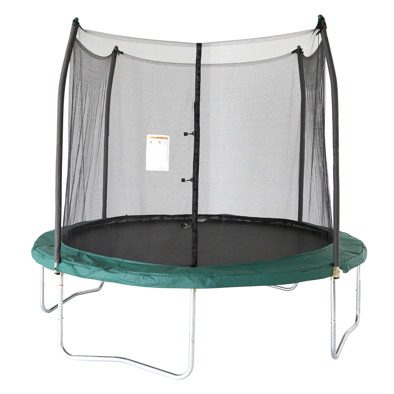 Skywalker 10' Round Trampoline With Enclosure