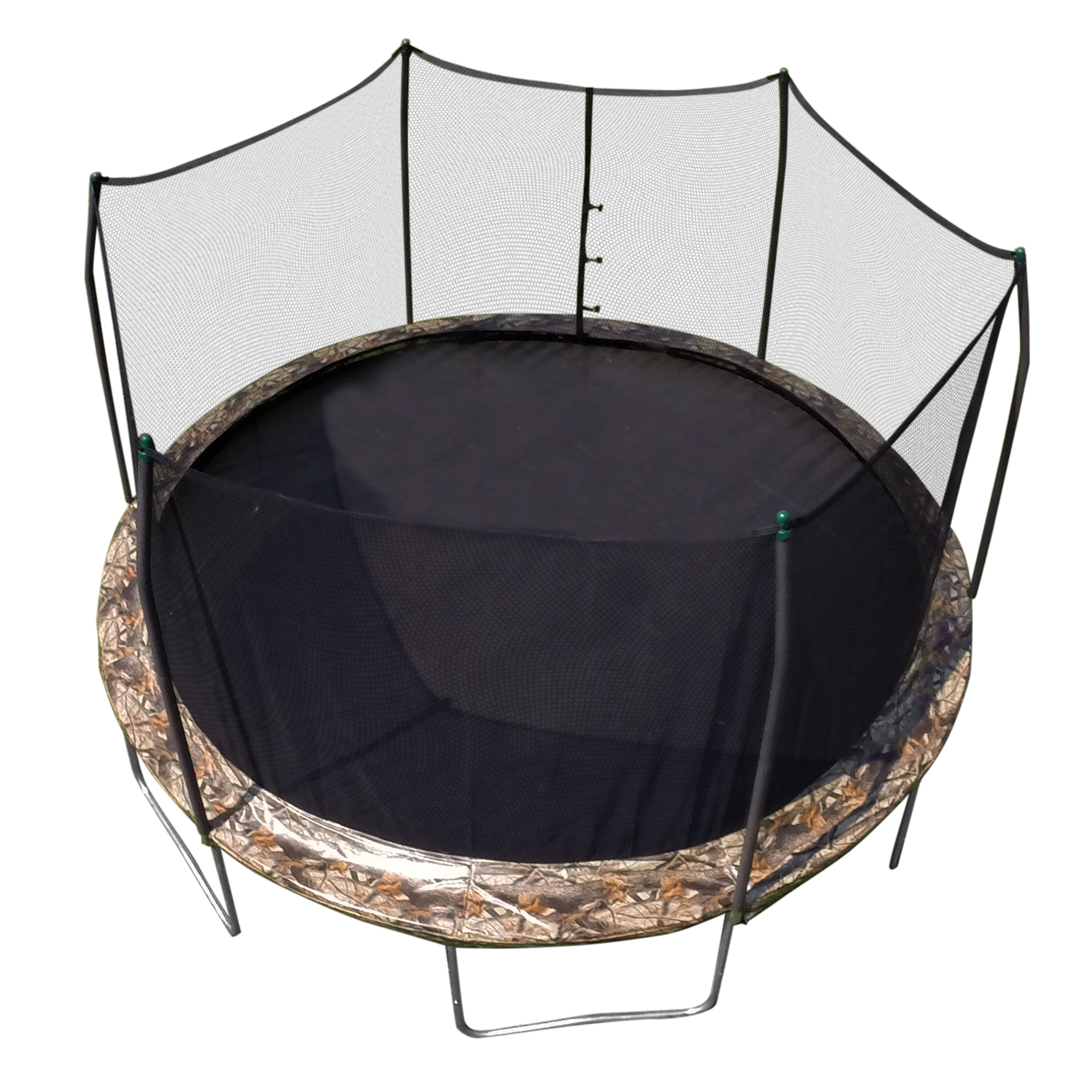 Skywalker Camo 15' Round Trampoline And Enclosure